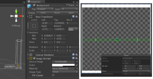 Slider Object and Source Image sprite setup in Sprite editor. Select Image Type Sliced and unselect fill center to make the only outlines drawn as in the figure. Configure also bordets in in Sprite editor to  show what areas can be stretched to when fitting the slider background.